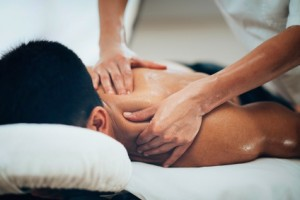 Link between massage and depression