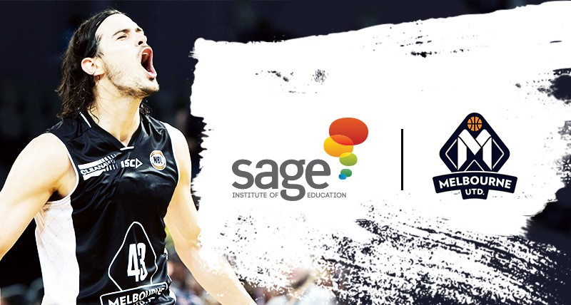 Sage Institute of Education sponsors Melbourne United - Sage Institute of Massage